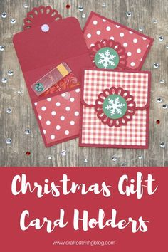 Christmas Gift Card Holders #giftcardholders #christmasdiy #christmascrafts #handmadechristmasgifts
