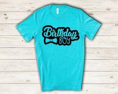 Slogan Tshirt, Family Birthdays, 1st Boy Birthday, Party Shirts, Personalized T Shirts, Gift Store, Boys T Shirts, Colorful Shirts, Celebration