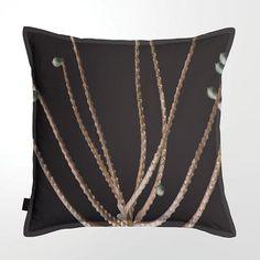 Scatter Cushion (DBL sided print ) - Palm Seeds 02 Scatter Cushions, Throw Pillows, Palm, Seeds, Feather, Toss Pillows, Quill, Decorative Pillows, Decor Pillows