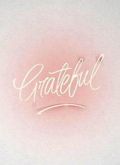 morning practice: gratitude