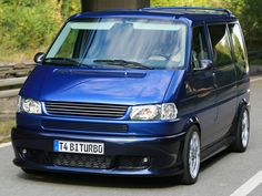 VW T4 1996 onwards facelift long nose