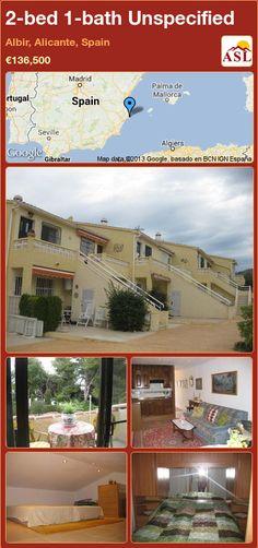2-bed 1-bath Unspecified in Albir, Alicante, Spain ►€136,500 #PropertyForSaleInSpain