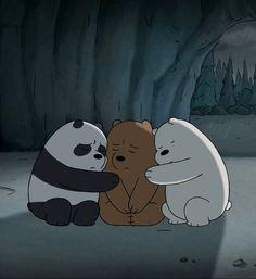 We Bare Bears Comfort Cute Panda Wallpaper, Cartoon Wallpaper Iphone, Sad Wallpaper, Cute Disney Wallpaper, Ice Bear We Bare Bears, 3 Bears, Cute Bears, We Bare Bears Wallpapers, Panda Wallpapers