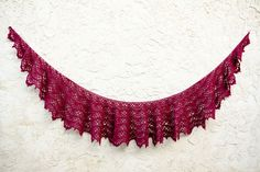 Knot Theorist: How to wear a crescent shawl