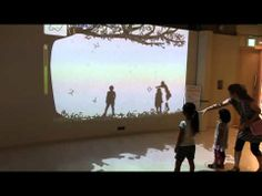 H25 9 23 ギャラクシティ 1) - YouTube Interactive Walls, Interactive Media, Play Spaces, Interaction Design, Experiential, Medium Art, Case Study, Health Care, Advertising