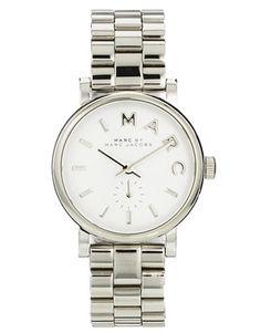 Marc By Marc Jacobs Baker Mini Silver Watch £165