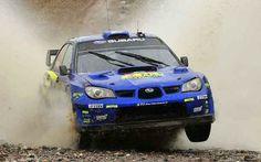 Subrau Impreza WRc rally car