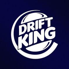 Drift King JDM Vinyl Decal Sticker by StickThemAll on Etsy