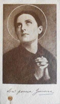 St Gemma Galgani: From the Office of Readings for St Gemma Galgani