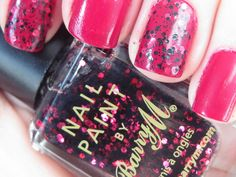 2 favourite Barry M polishes together :)