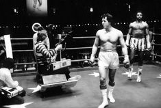 """Rocky"" / Behind the scenes (1976)"