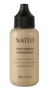 Natio Pure Mineral Foundation 50ml Light Medium *** Want additional info? Click on the image.