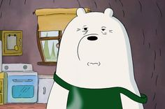 Today's Ice Bear (15) Ice Bear We Bare Bears, 3 Bears, Cute Bears, Bear Pictures, Cute Pictures, Bear Meme, Cute Funny Pics, We Bare Bears Wallpapers, Funny Character