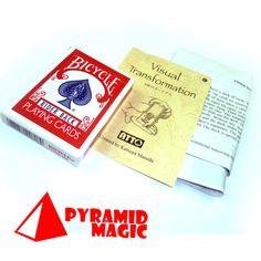 Visual Transformation by  Katsuya Masuda - Trick/ close-up card magic trick products / wholesale   http://www.buymagictrick.com/products/visual-transformation-by-katsuya-masuda-trick-close-up-card-magic-trick-products-wholesale/  US $15.00  Buy Magic Tricks
