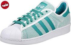 adidas Superstar Adicolor Schuhe shock green - Adidas sneaker (*Partner-Link)