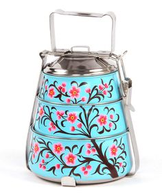Turquoise Vintage Tiffin