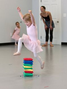 first grand jeté www.theworlddances.com/ #littleballerinas #tutucute #dance