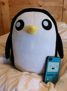 CUTE Adventure Time inspired Penguin (Gunther)