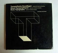 Basic Typography: Handbook of Technique and Design, Ruedi Rüegg & Godi Fröhlich, 1972, ABC Verlag, Zürich
