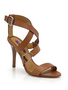 733dc8979013 Ralph Lauren - Blair Horsebit Leather Sandals