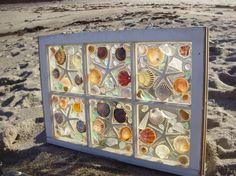 Sea Glass Window by beachcreation on Etsy