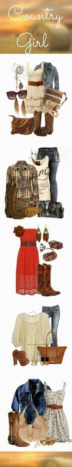 Adorable Country Girl Outfits for a Military Homecoming