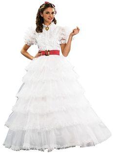 White Halloween Dresses