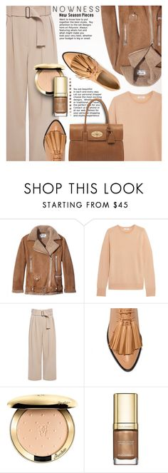 """""""Cool Neutrals Personal Style"""" by anna-anica ❤ liked on Polyvore featuring Acne Studios, Equipment, A.L.C., Mulberry, Guerlain and Dolce&Gabbana"""