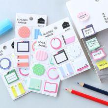 1 x encantador Creativo de mini cojín de nota de papel notas Post-it sticky notes bloc de notas kawaii niños material escolar papelería regalos de los niños(China (Mainland))