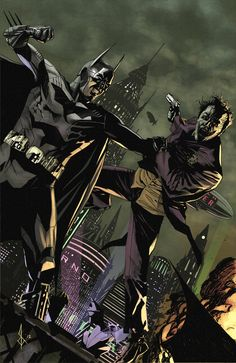 Batman vs Joker by Bentti Bisson