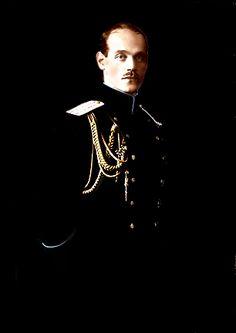 The Romanovs. Grand Duke Michael Alexandrovich (1878 – 1918) of Russia, brother of Nicholas II.