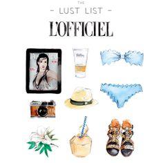 The Lust List'in yaratıcısı Sally Spratt, L'Officiel Türkiye için arzu nesnelerini çizdi. Devamı Nisan sayımızda!