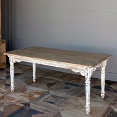 Old Fashioned Farmhouse Table
