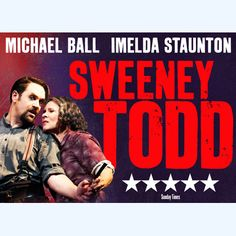 Sweeney Todd + FREE Dinner    Plan #yourjourney online at http://ojp.nationalrail.co.uk/service/planjourney/search