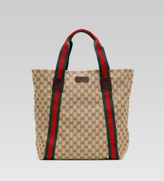 I am not too much of a Gucci fan, but I would use a Gucci tote because it will go a long way.