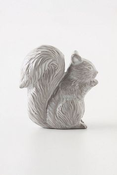This is what I want in my kitchen, SQUIRREL DOOR PULLS.   But I'd also just settle for a couple of these in my bathroom.   Or one to hang clothes on even.   LOVE THESE!
