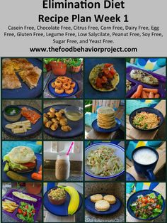 Free meal plan for an elimination diet: casein free Healthy Foods To Eat, Healthy Snacks, Healthy Recipes, Free Recipes, Dieta Paleo, Paleo Diet, Paleo Vegan, Breakfast Low Carb, Elimination Diet Recipes