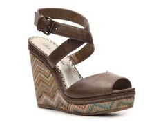 Lulu Townsend Whoopie Wedge Sandal  im getting to wear i like wedges!! casual but still kinna dressy