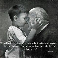 Nieto y abuelo
