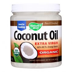 Extra virgin, Cold Pressed Coconut Oil. Country of origin : USA Organic : Yes Gluten Free : Yes Dairy Free : Yes Yeast Free : Yes Wheat Free : Yes Vegan : Yes GMO Free : Yes Size : 32 OZ Pack of : 1 Product Selling Unit : each #SaltFaceScrub Coconut Oil For Dogs, Cooking With Coconut Oil, Coconut Oil Uses, Organic Coconut Oil, Cooking Oil, Anti Aging Treatments, Skin Treatments, Acne Treatment