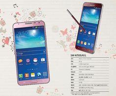 El Samsung Galaxy Note 3 Neo Tendrá Versiones en Rosa y Rojo