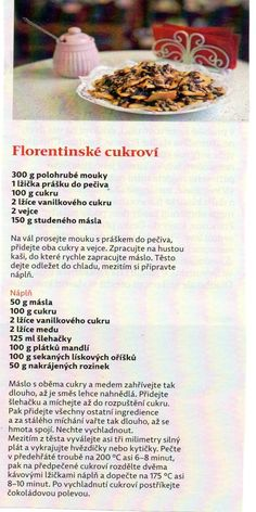 Florentinské cukroví