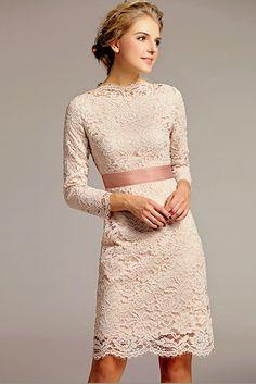 Bridesmaid dresses 2013 long sleeves lace