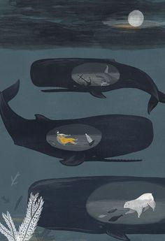 Alice Ferrow Nunca se sabe lo que hay dentro de una ballena.