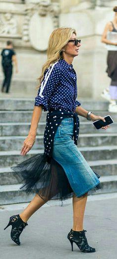 Paris Fashion Week street 2017