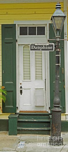 New Orleans Print featuring the photograph French Quarter Door - 10 by Susie Hoffpauir Louisiana Homes, New Orleans Louisiana, Louisiana Art, New Orleans Art, New Orleans Homes, Portal, New Orleans Architecture, Shotgun House, New Orleans French Quarter