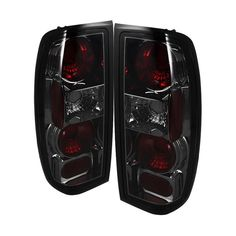 ( Spyder ) Nissan Frontier 98-00 Euro Style Tail Lights - Smoke