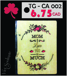 MOM - there's just no one like her. Make sure your Mom knows how incredibly wonderful she is with Mother's day wooden cards from VIETSOULMATE.  Mother's day is Sunday, May 10th. Make sure to get your right card in time.