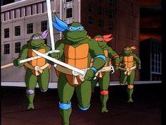 Teenage Mutant Ninja Turtles - Hero's in a half-shell  :)