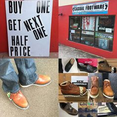 BIG SALE TODAY -BUY ONE PAIR GET THE SECOND PAIR 50% OFF. --Can't find your size in comfortable work shoe or safety BOOTS - SHOP CASUAL FOOTWARE.. Do you need shoes? At Casual Footware we have a wide selection of top exclusive brands for all occasions.  We carry large sizes men's to size 18 and ladies to size 14 Bermuda's leading supplier of comfort and safety footwear :@casualfootwarebda  Shop at Casual Footware 14 Parsons Road Pembroke Phone 295-9968 Open Mon. - Fri. 9:30 am - 5:30pm…